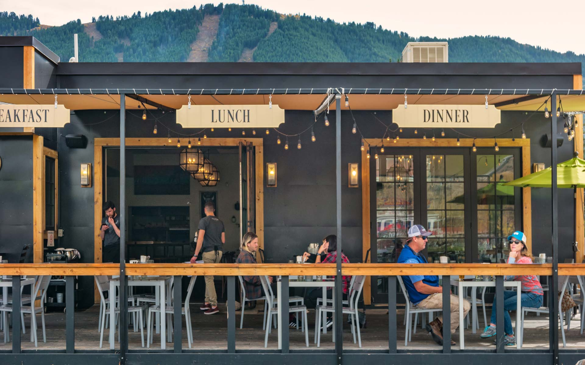 Restaurant in downtown Jackson Hole