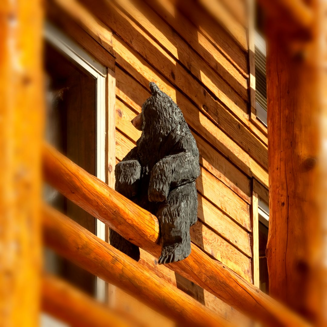 Bear Sculpture at The Lodge at Jackson Hole